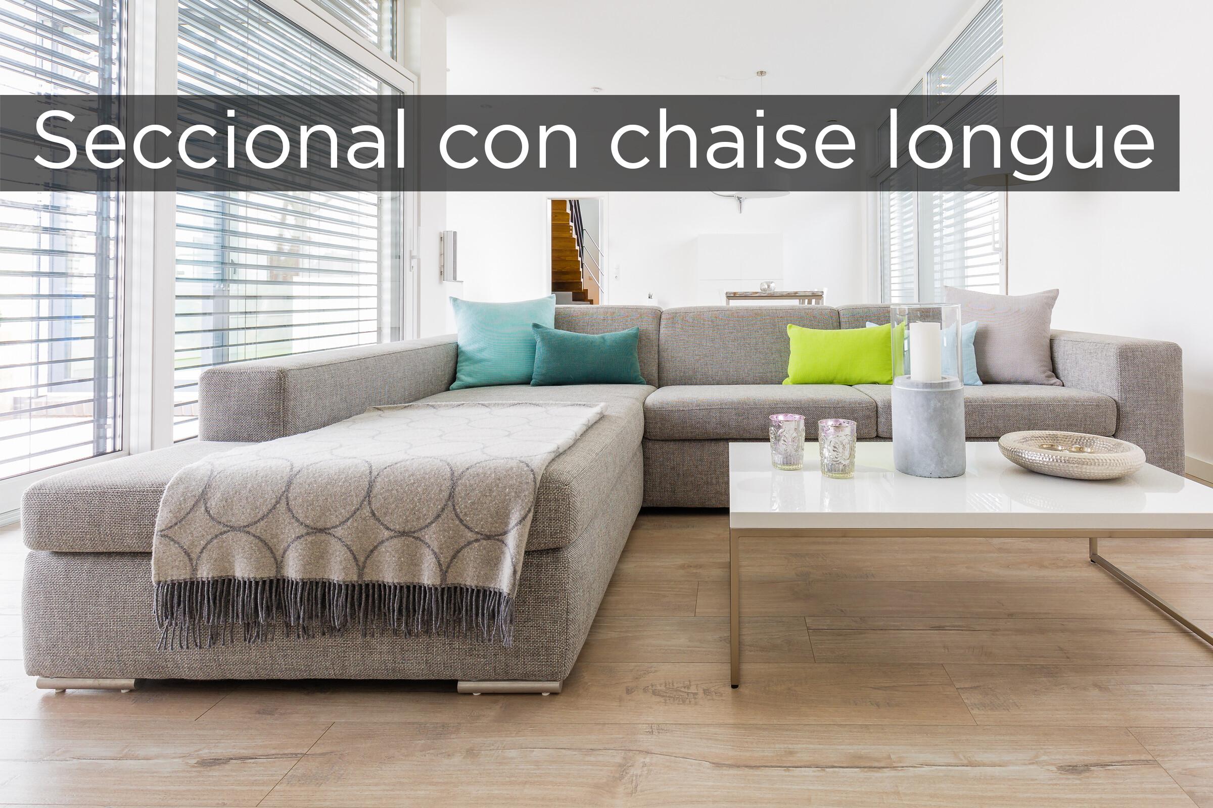 Seccional Con Chaise Longue