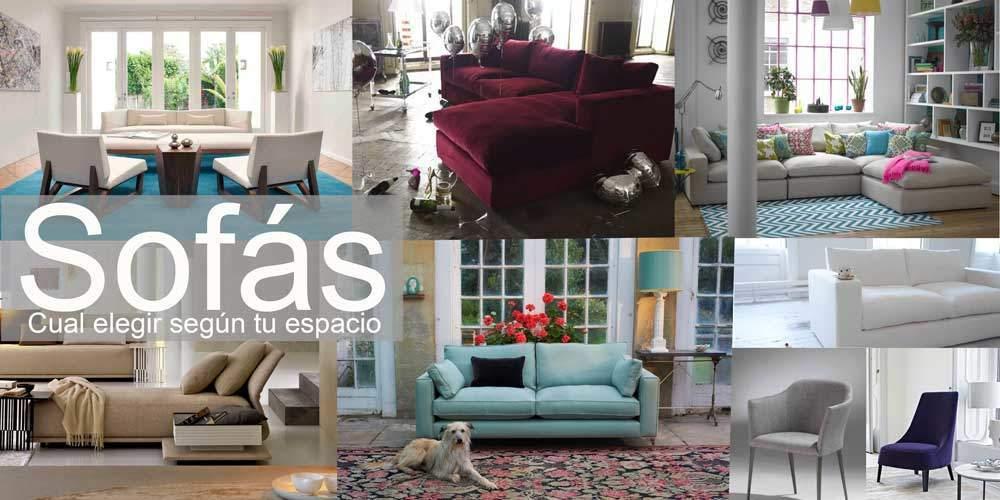 Tipos de sofás Cual elegir según tu espacio