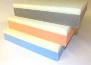 Espumas compuestas en capas de alta resistencia con distintas densidades para sofa