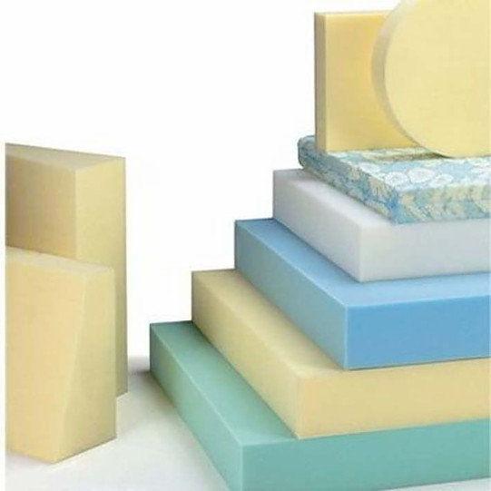 Tipos de espumas para muebles en varios grosores