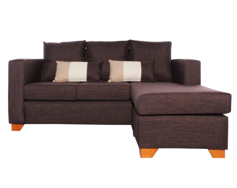 Sofa 3 Cuerpos Milan Chaise Longue Intercambiable Bariloche Chocolate