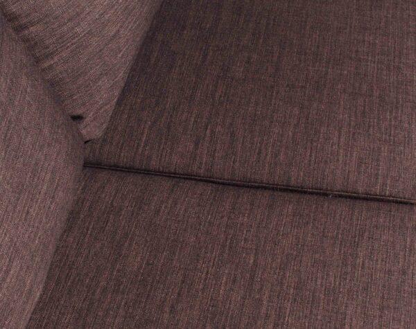 Sofa 3 Cuerpos Milan Chaise Longue Intercambiable Bariloche Chocolate detalle