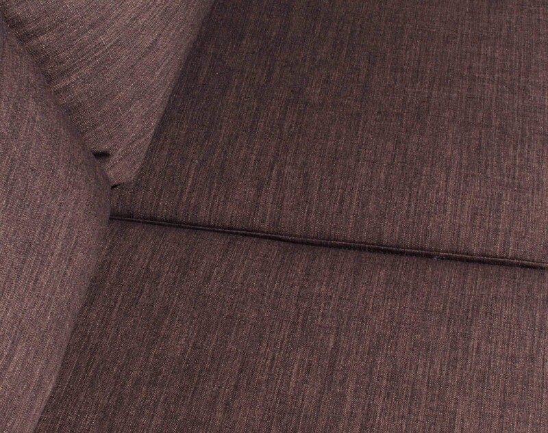 Sofa 3 Cuerpos Milan Chaise Longue Intercambiable Bariloche Chocolate detalle