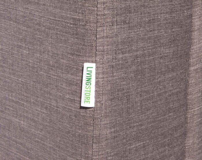 Sofa Modular 4 Cuerpos Monaco Bariloche Alto Trafico Gris detalle