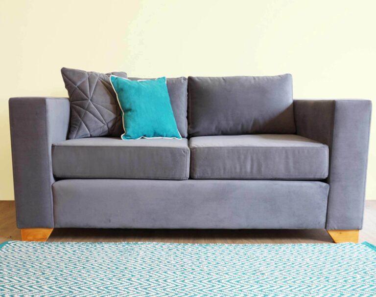 sofa monaco 2 cuerpos felpa