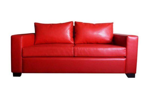 sofa cama cuero