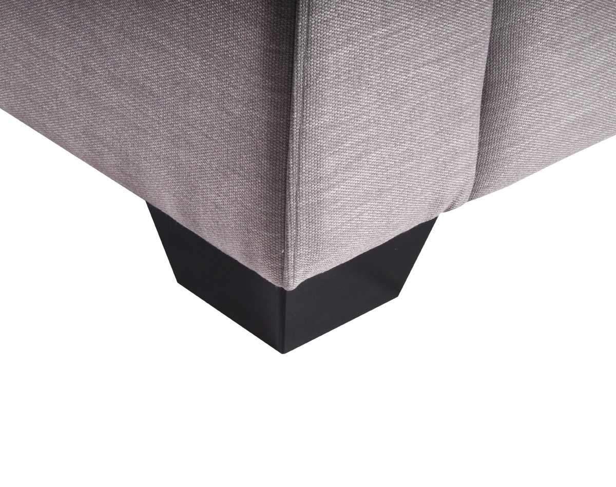 Mónaco Pata madera tapiz tucumán gris claro