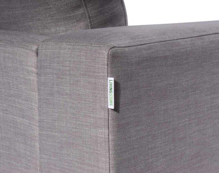 Mónaco tapiz tucumán gris claro detalle brazo