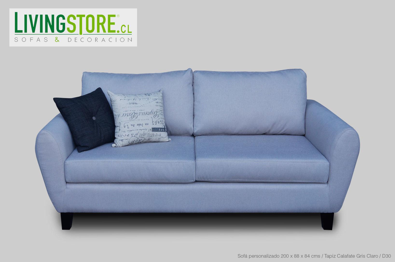 Proyecto sofá personalizado 2 Cuerpos brazo curvo - LivingStore.CL ...