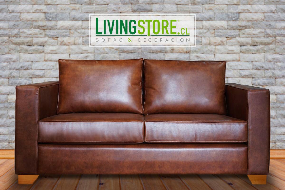 Tapiz cuero envejecido livingstore cl sof s decoraci n santiago chile - Tapices para sofas ...