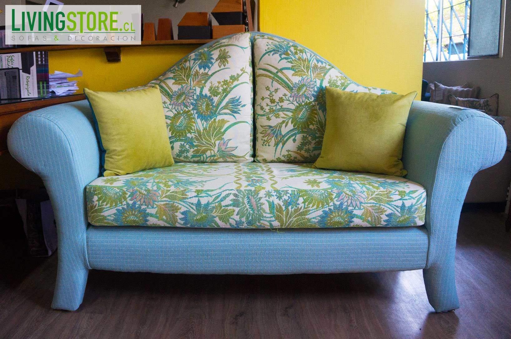 retapizado sof vintage tapiz chenille importado usa