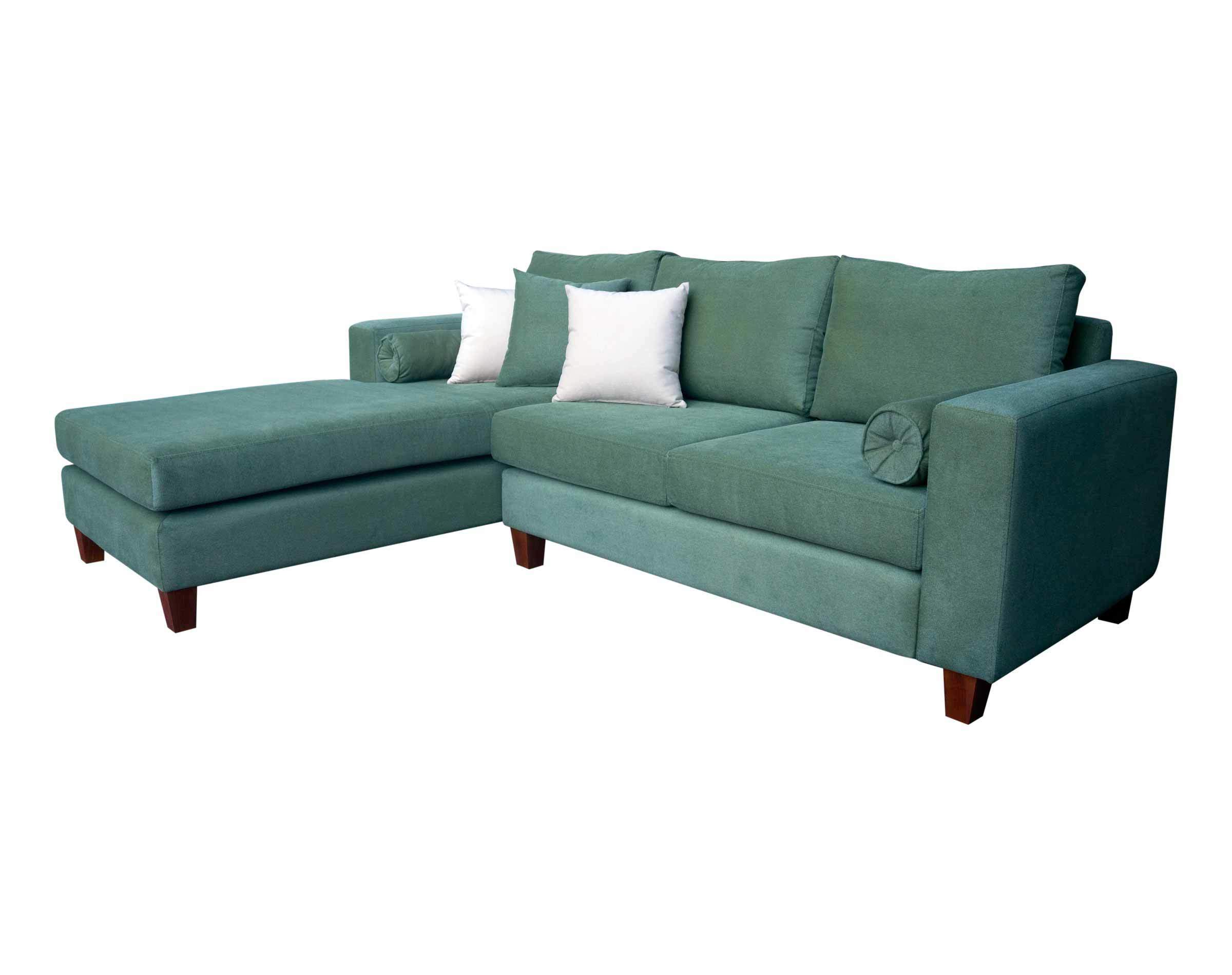 sofa seccional color velvet