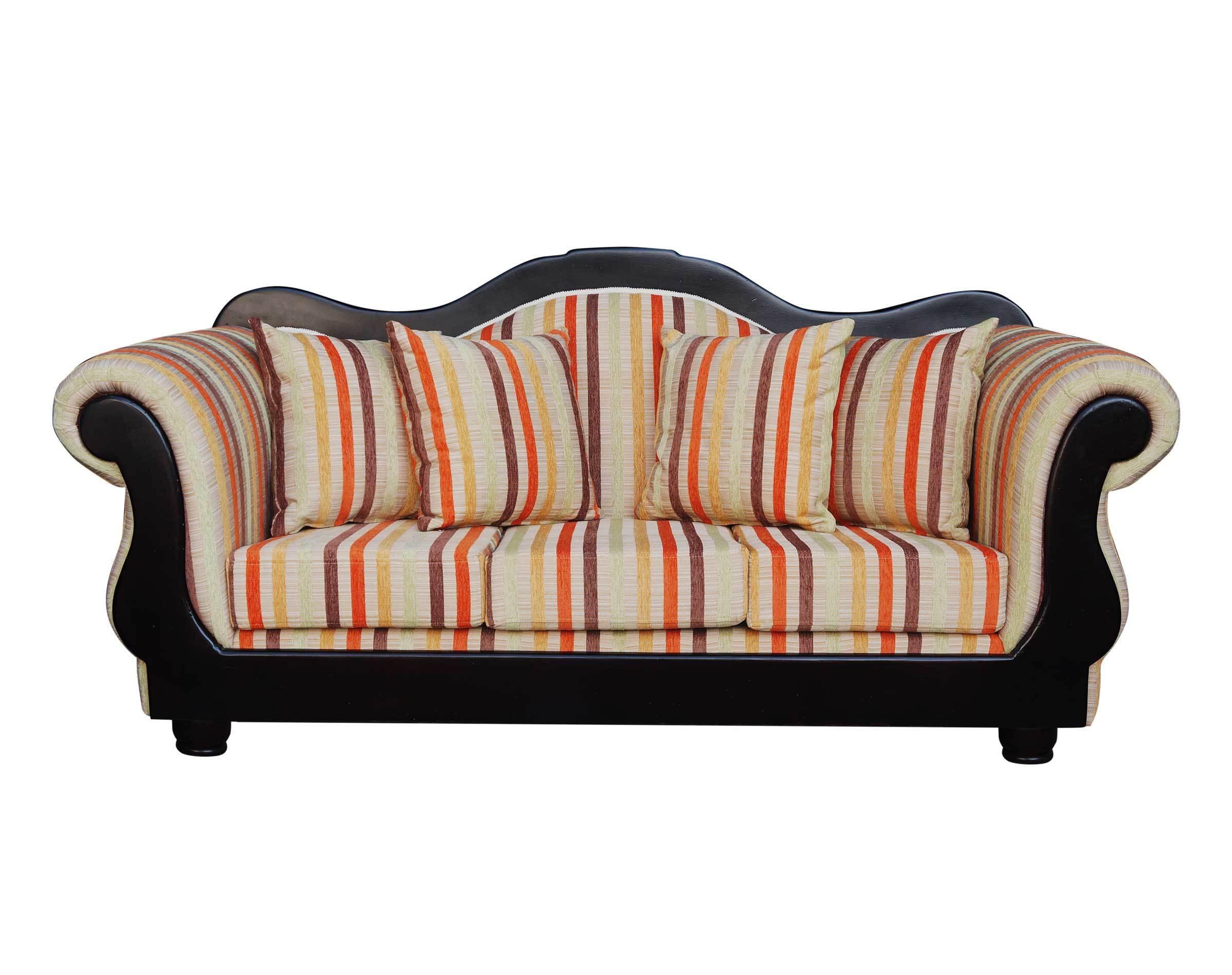 Retapizado de sofá con restauración de maderas