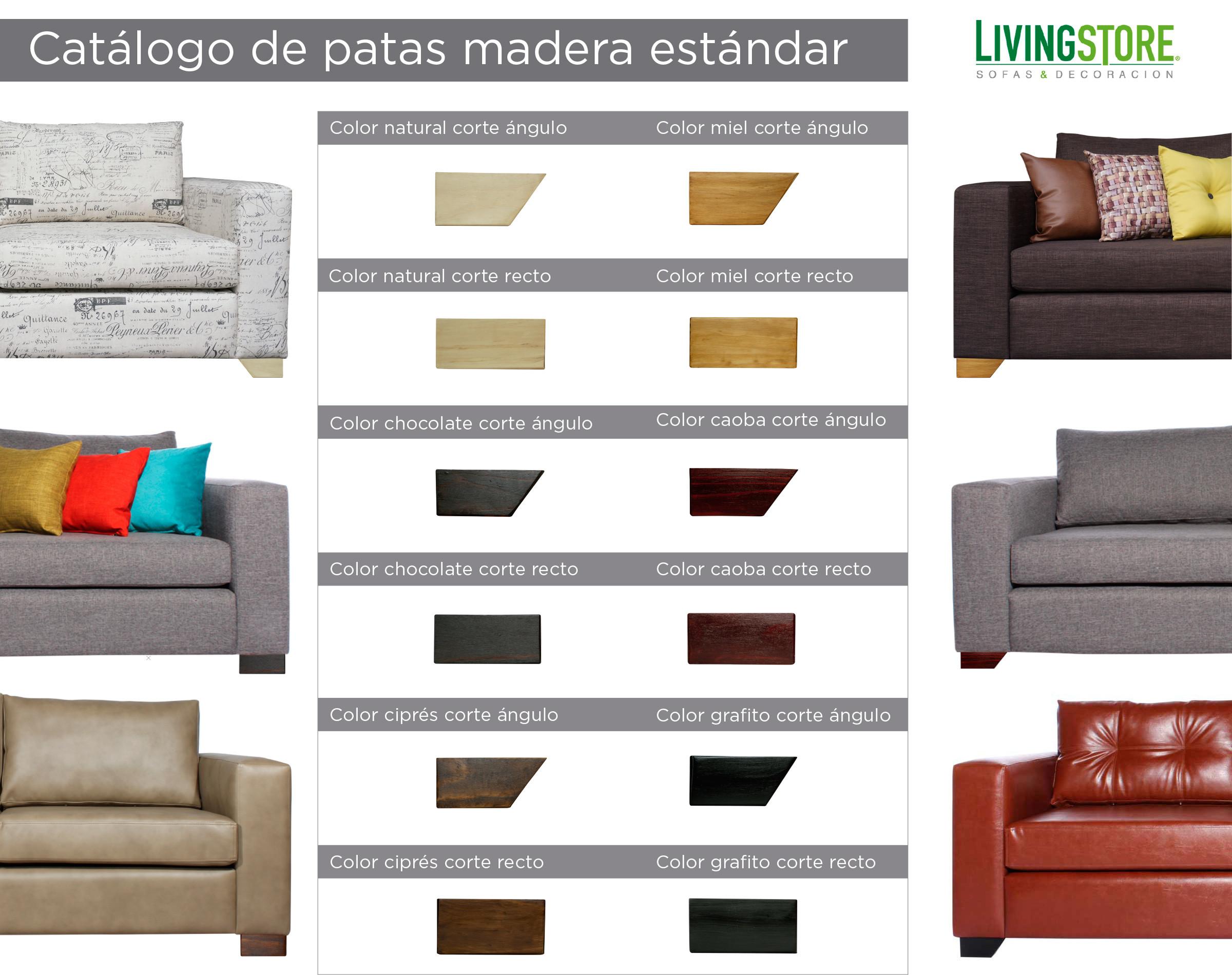 Patas de Madera catálogo 2019