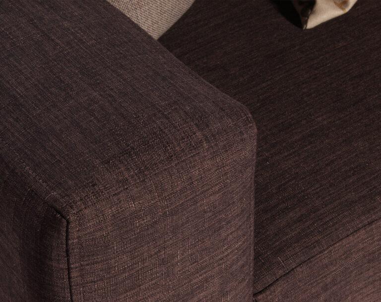 Brazos con lineas rectas sillon sofa seccional modelo monaco
