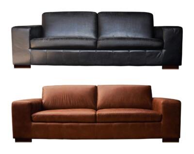 Retapizado de sofá cuero