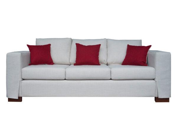 Sofá personalizado mónaco con cubre brazos desmontables