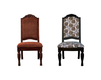 Retapizado silla comedor rebarnizado