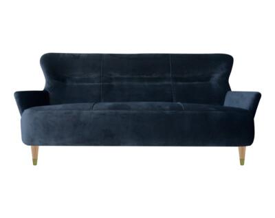Sofa estilo retro retapizado