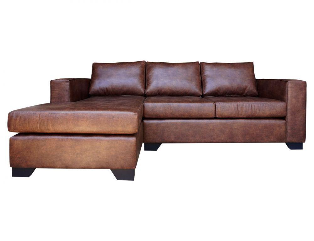 Sofá seccional mónaco cuero personalizado