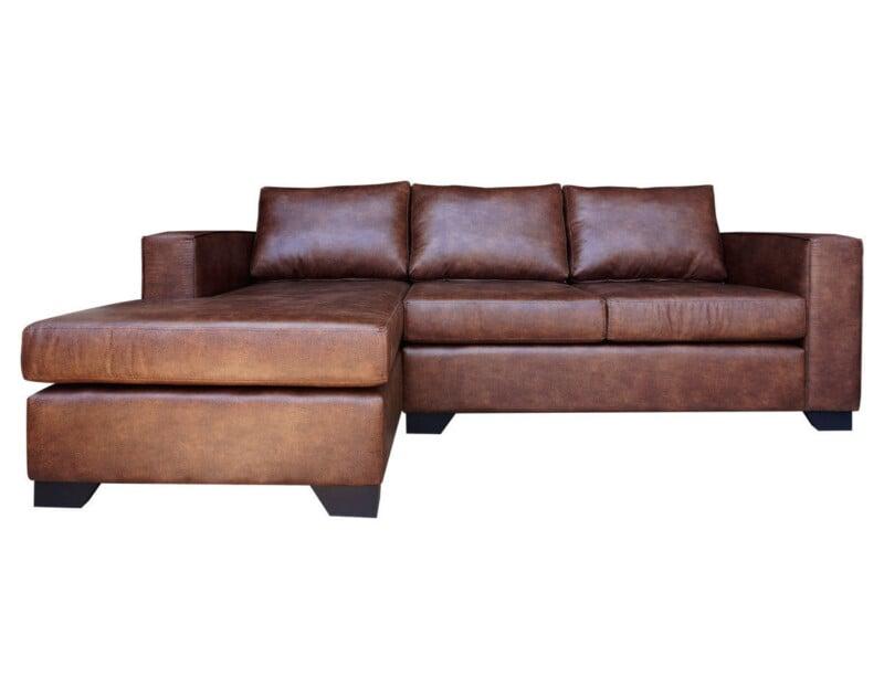 Sofa seccional monaco cuero personalizado