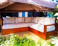 Sofá modular terraza