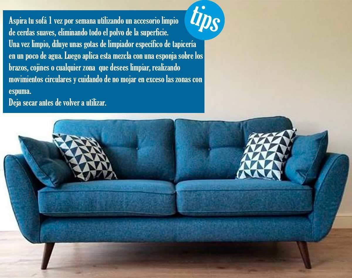 C mo mantener limpio su sof livingstore cl sof s for Sillon cama chile