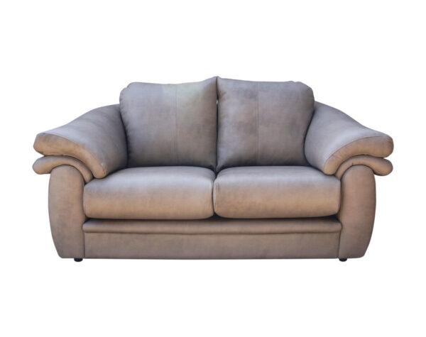Retapizado de sofá estilo clásico en cuero envejecido