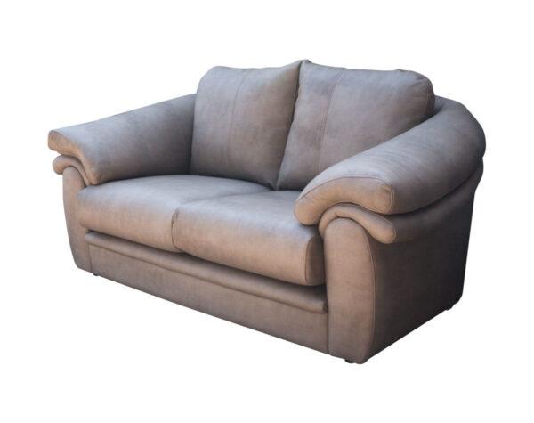 Retapizado de sof estilo cl sico en cuero envejecido for Sofas de estilo clasico