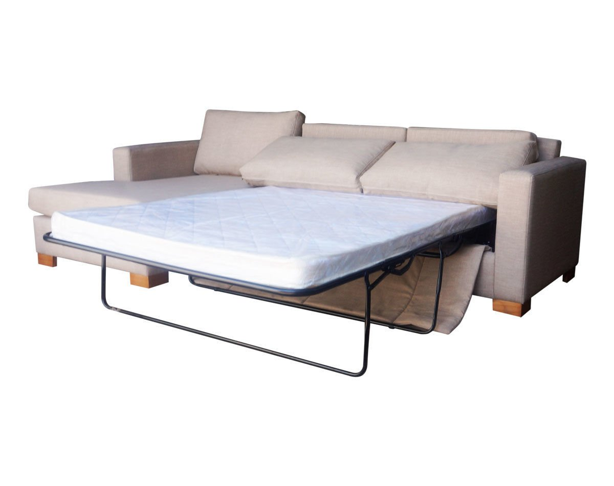 Sofá cama seccional izquierdo