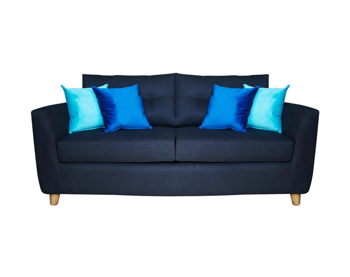 Sofá cama personalizado tapiz Calafate negro