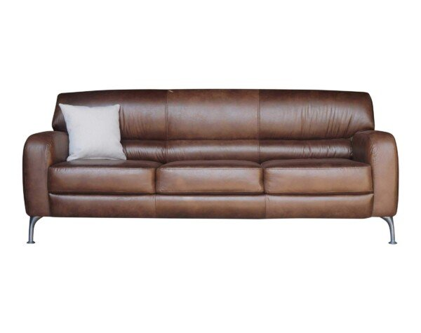 Retapizado de sofa 3 cuerpos en tela envejecida