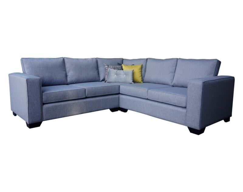 Sofá modular simétrico tapiz XSD gris