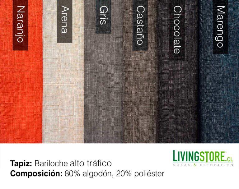 Tapiz Bariloche en varios colores para tapizar sofas y sillones