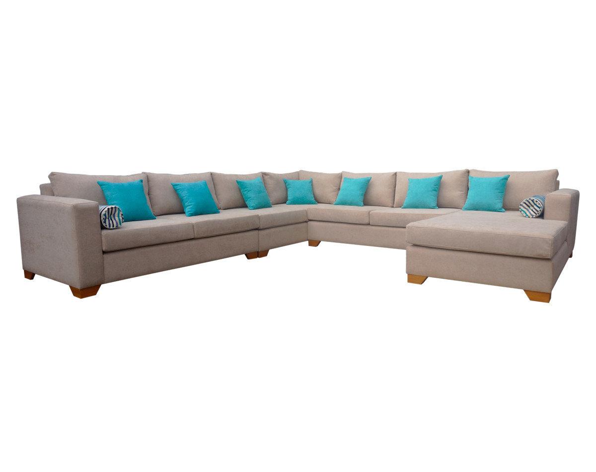 Nuevo Centro de descanso, Sofá modular con chaise longue