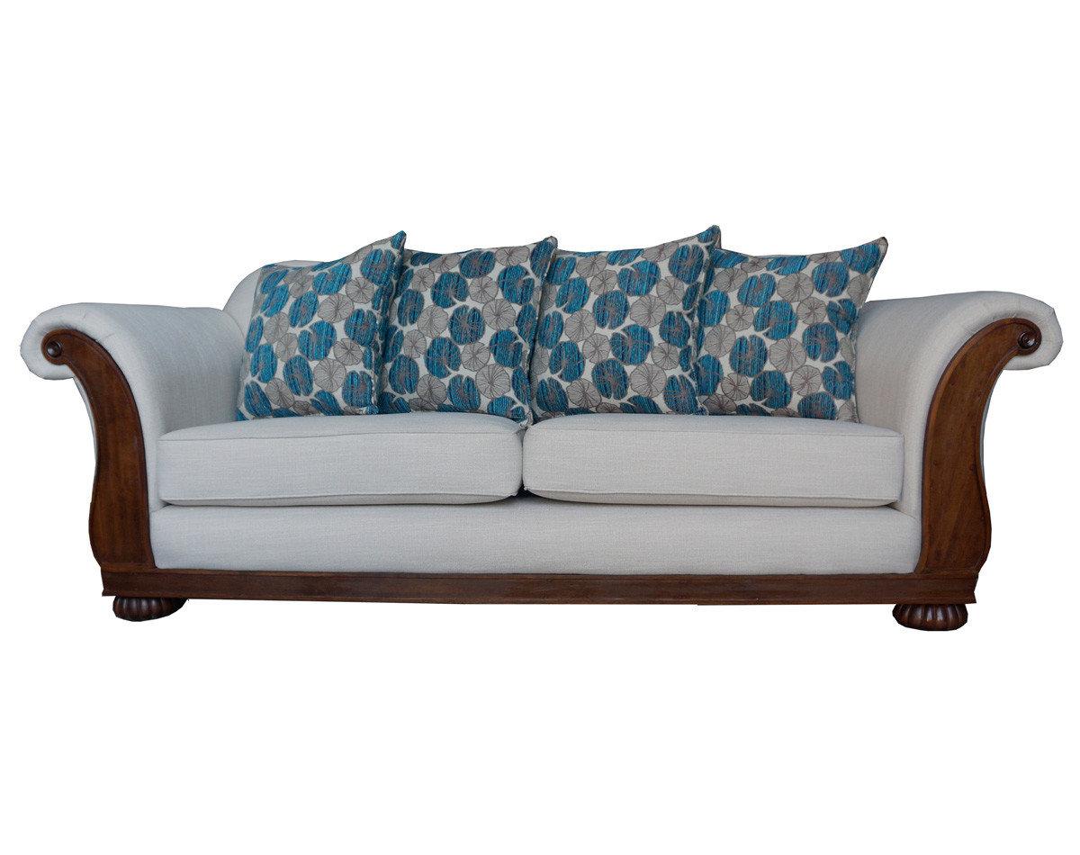 Retapizado de sofá 2 cuerpos tapiz Inside arena