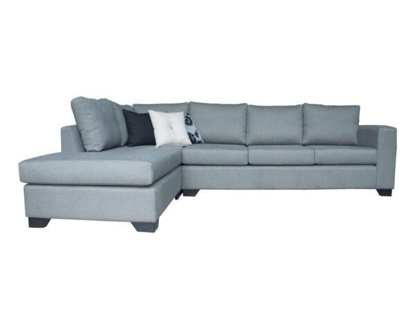Sofá modular con chaise longue izquierdo especial