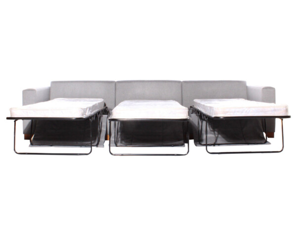Sofá cama modular xsd gris camas abiertas