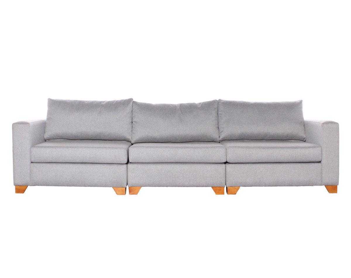 Sofá cama modular xsd gris