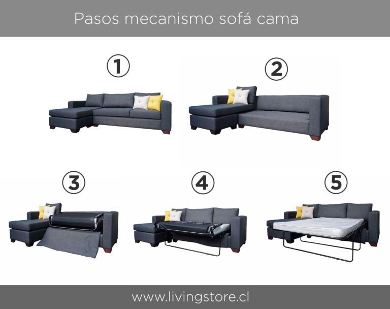 Instructivo sofá cama