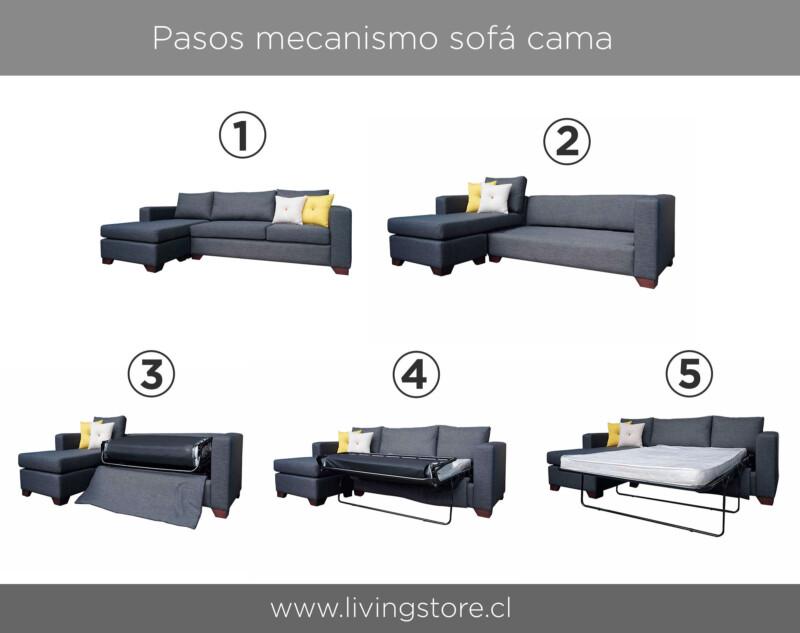Instructivo sofá cama