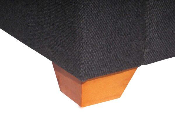 Sofá Modular Mónaco XSD Esquinero Pata de madera y tapiz XSD Color Marengo