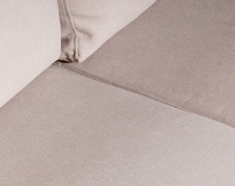 Sofa 3 Cuerpos Monaco Chenille Mecha Antimanchas White detalle 2