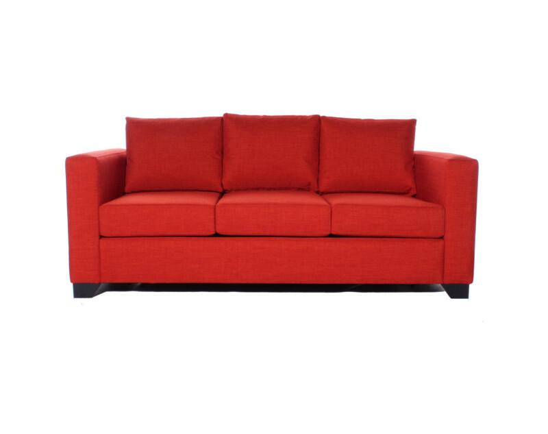 Sofa Cama A Medida Especial Bariloche Naranjo 3