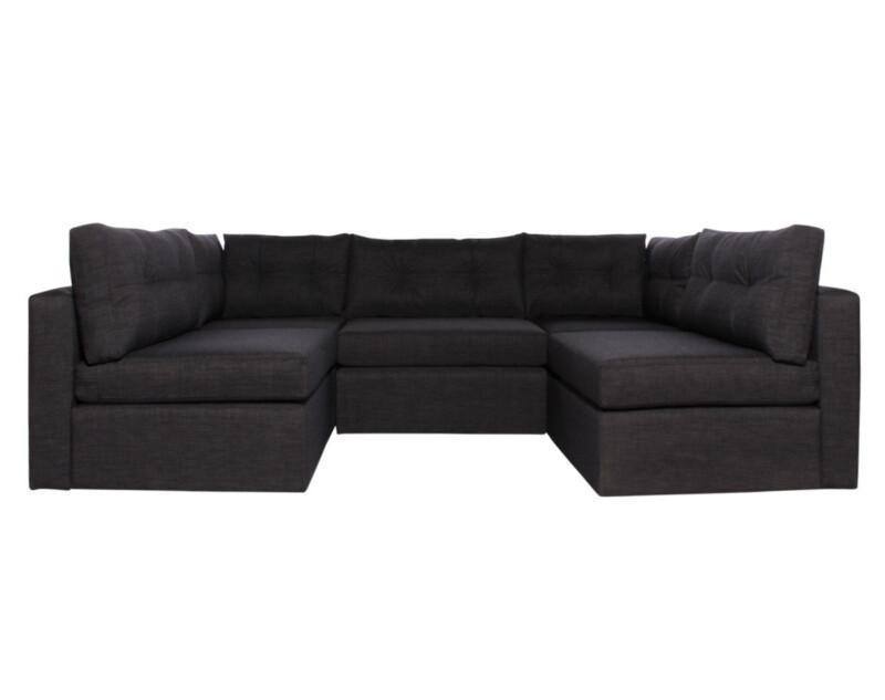 Sofa Modular Reconfigurable Bariloche Marengo esquineros