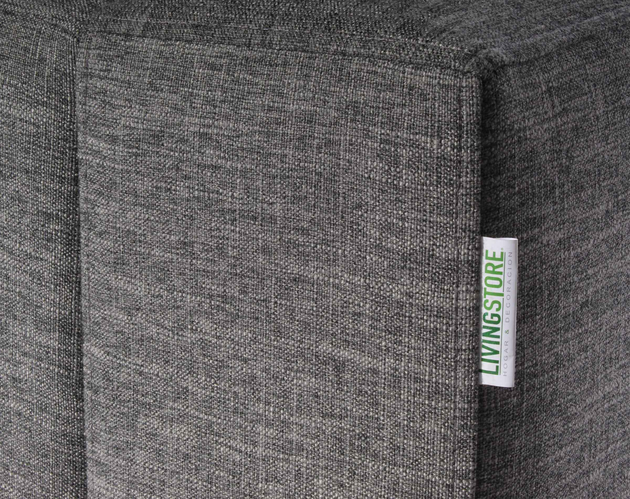 Sofa Thomas Inside Antimanchas Gris detalle