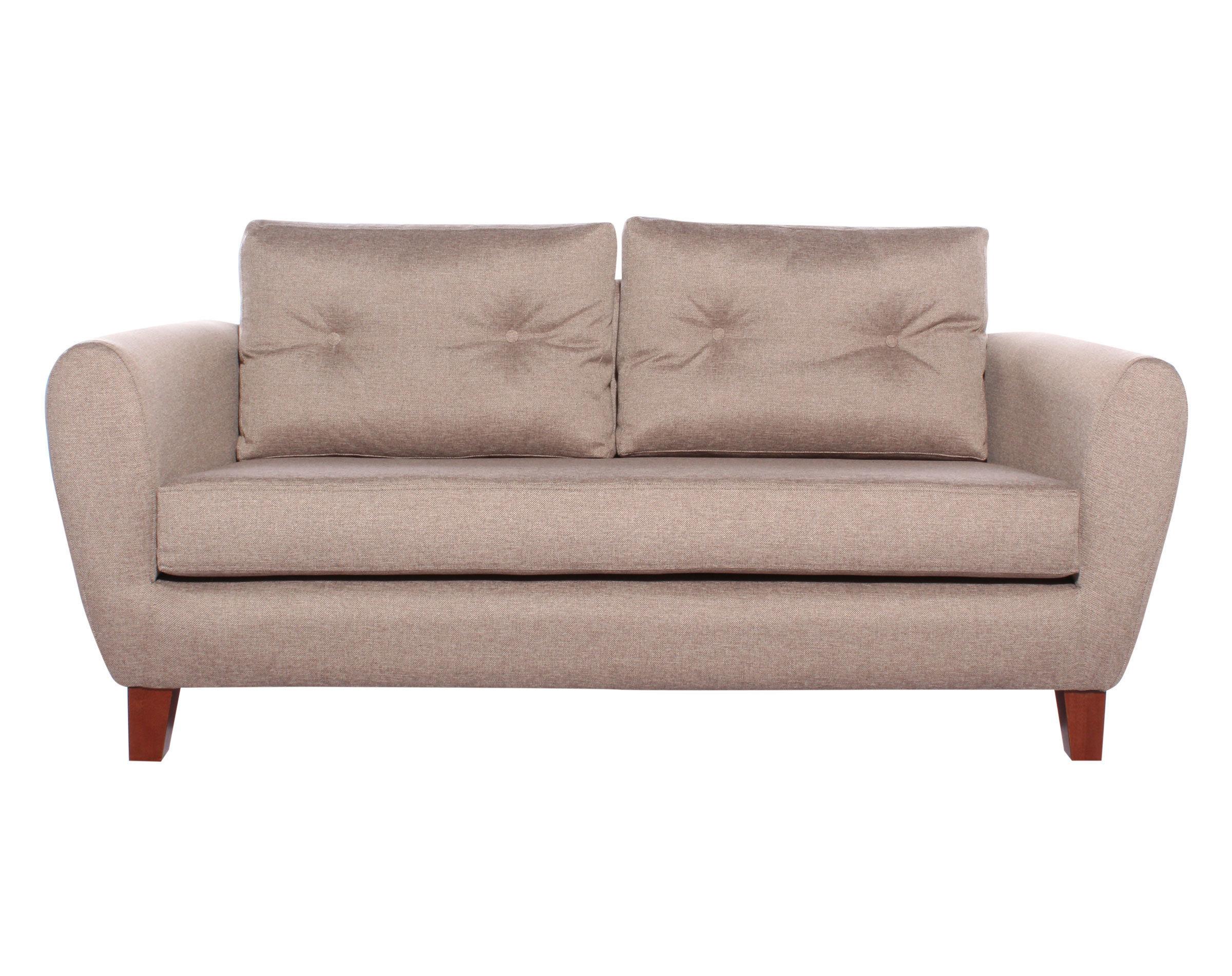 Sofa 2 Cuerpos Amanda XSD Tostado