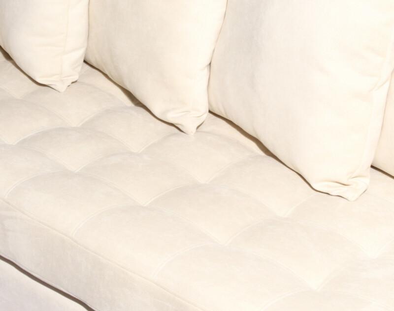 Sofa 2 cuerpos especial Mecha ivory detalle