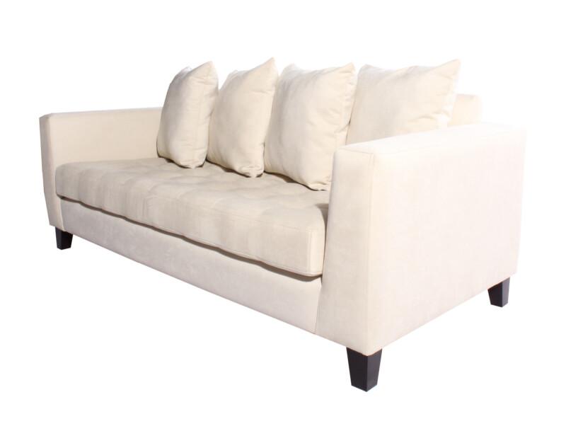 Sofa 2 cuerpos especial Mecha ivory iso