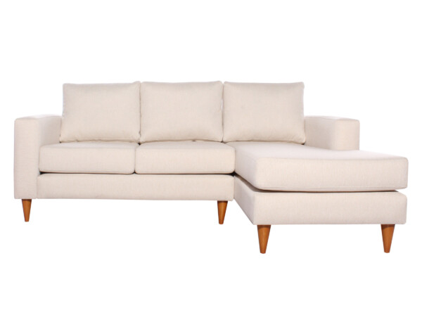 Sofá seccional Tai derecho XSD beige
